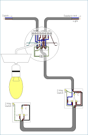 two way lighting circuit wiring diagram bestharleylinks info