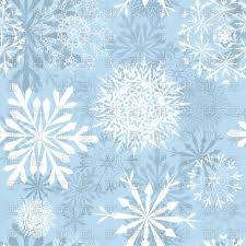 seamless blue winter background with snowflakes vector clipart