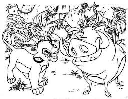 printable 62 disney coloring pages lion king 3009 disney