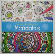 Carnet de coloriages Mandalas  Gribouilleuse