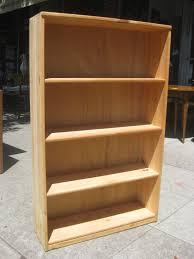 uhuru furniture u0026 collectibles sold pine bookcase 45
