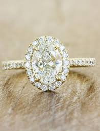 yellow gold oval engagement rings verity stunning oval halo engagement ring ken