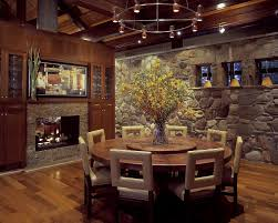 round table with lazy susan built in table and chairs but without the lazy susan in the middle of the