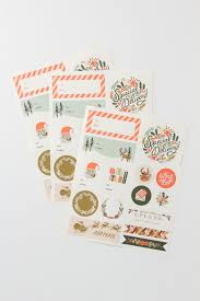 holiday stickers u0026 labels by rifle paper co anthropologie com