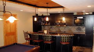 bar amazing basement apartment kitchen design ideas amazing home