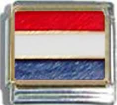 Hollanda Flag Flags Ceramic