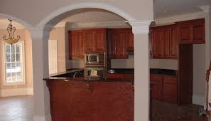prefabricated kitchen islands bar awesome curved stone prefab kitchen island with gray
