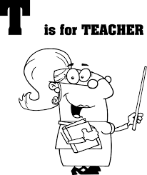 cartoon teachers coloring pages for preschoolers coloring point