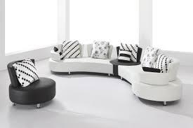 the perfect round sofa set for loft living room interior design