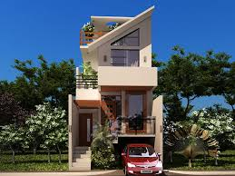Modern House Roof Design Small Plot House With Underground Car Parking Great Design For A