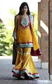 latest mehndi lehenga u0026 sharara dresses designs 2016 2017 3