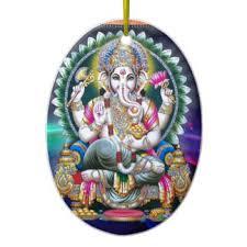 lord ganesh ornaments keepsake ornaments zazzle