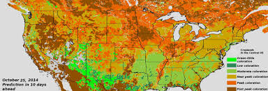 maryland foliage map 2015 fall foliage from viirs articles news cics md