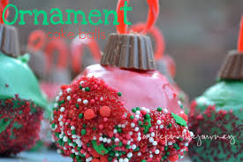 how to make ornament cake balls