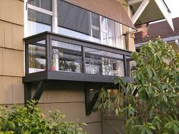 Outdoor Cat Condo Plans by Cat Enclosures Seattle Catio Spaces Window Box Furbabies