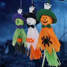 2pcs cute ghost halloween decoration festival party supplies kids
