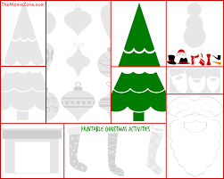free printable christmas activities for kids the mama zone