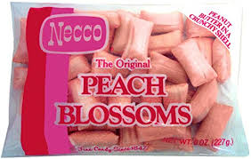 blossoms candy necco blossoms peanut butter candy 18 ounce