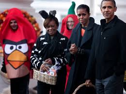 nwa halloween costume president obama and the first lady host halloween party for