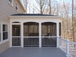 Outdoor Screen House by Screened Rooms American Exteriors U0026 Masonry