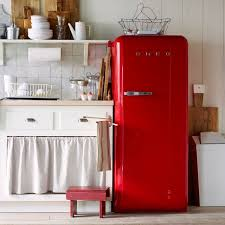 Kitchen With Red Appliances - trend alert 13 kitchens with colorful refrigerators remodelista