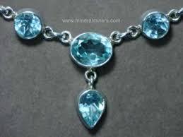 gemstone silver necklace images Blue topaz jewelry sky blue topaz pendants rings bracelets and jpg