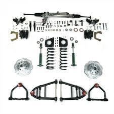 mustang ii ifs kit with power steering for 55 57 chevy bel air
