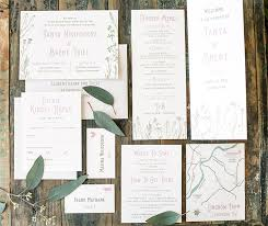 wedding invitation suite anatomy of a wedding invitation suite harken press
