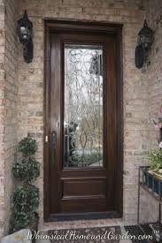 wood and glass front doors 92 best front door ideas images on pinterest beveled glass