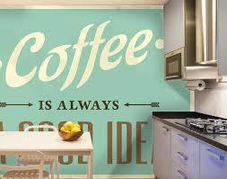 papier peint lessivable cuisine papier peint cuisine une déco tendance à souhait