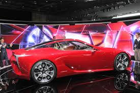 lexus lf lc red lexus lf lc will be produced but not as a successor for the lfa