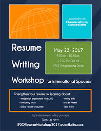Best Resume Writing Books 2017 by Resume Writing Workshop For International Spouses Tickets Tue