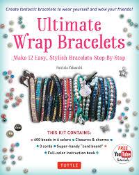 cord bracelet kit images Ultimate wrap bracelets kit instructions to make 12 easy stylish jpg