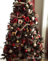 christmas rustic christmas tree excelent image ideas best