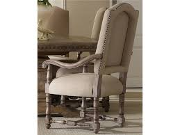 upholstered dining room arm chairs hooker furniture dining room sorella upholstered arm chair 5107
