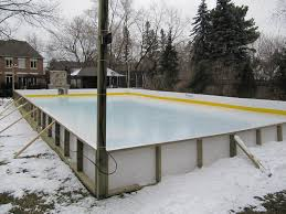 figure skating rink with subfloor bridal path toronto