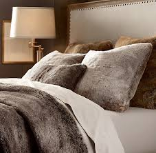 Faux Fur Duvet Cover Boxwood Clippings Blog Archive Restoration Hardware Luxe Faux Fur