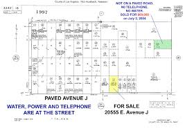 Los Angeles County Zoning Map by Lancaster California Land For Sale 4 62 Acres In Los Angeles