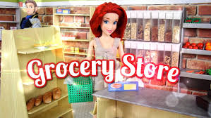 How To Make Homemade Dollhouse Furniture Diy How To Make Doll Grocery Store Handmade Doll Crafts