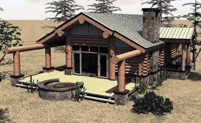 Log Cabin Plans House Plans With Porches Small Log Cabin Log Cabins And Cabin