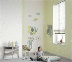 tapisserie chambre bébé chambre deco idee deco papier peint chambre bebe