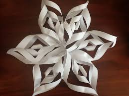 cool easy 6 pointed snowflake 7 steps