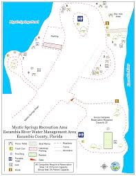Florida Springs Map Mystic Springs Group Campsite Northwest Florida Water Management