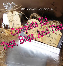 C Favors by 100 S Mores Wedding Favor Kit 100 Sted Stained