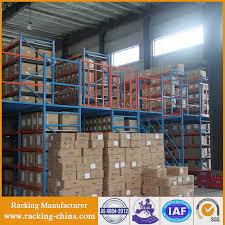 industrial warehouse storage steel structure mezzanine floor