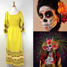 day of the dead halloween costume mood board for day of the dead