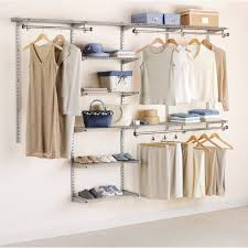 Rubbermaid Closet Organizer Parts Open Wall Mounted Wire Shelving For Open Closet Ideas Design Jpg