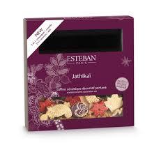 esteban paris jathikai scented potpourri with square dish flamant
