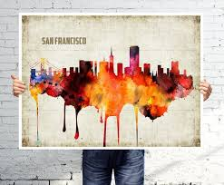 san francisco map painting 40 best wall images on home ideas my house and