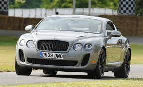 bentley white interior 2010 bentley continental supersports u2013 review u2013 car and driver
